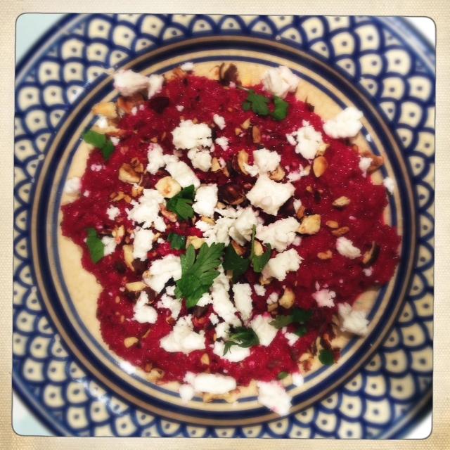 recipe: ottolenghi beetroot salad [27]